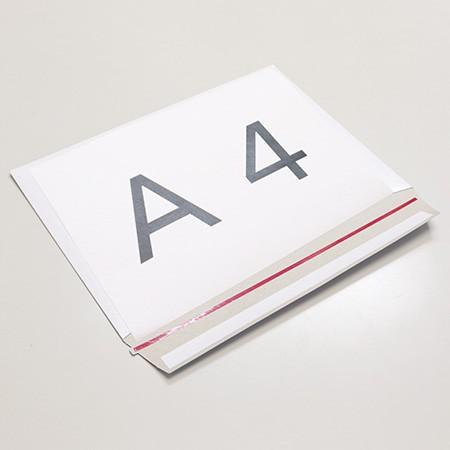 A4~B5サイズで調節可能!ネコポス、メルカリ便に対応したマチ付厚紙封筒(400枚入り)|ダンボール通販No.1【ダンボールA(エース)】